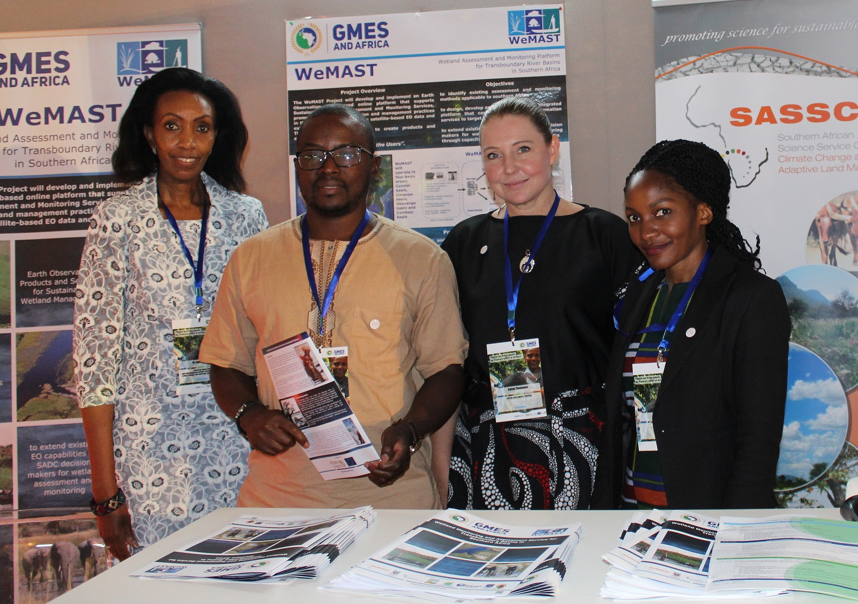 WeMAST exhibit launched at 1st Forum of the GMES & Africa Support Programme