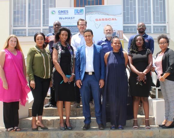 The WeMAST consortium recounts milestones during AUC visit